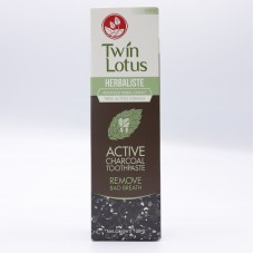 Active Charcoal toothpaste Twin Lotus 100 g